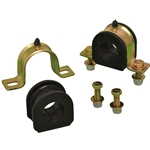 Strap Clamp and Poly Bushing (F-Large) Set for 1-7/16
