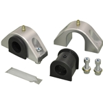 Billet Mount and Poly Bushing (D) Set for 1-1/4