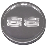 Camaro 67-68 - Billet Gas Cap, Smooth Matte Body with Polished