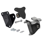 Camaro 70-71, Firebird 70-71 (GM F-Body) - Billet Motor Mount and Frame Adapter Set (V8 Engines)