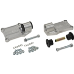 Side Motor Mounts, Billet Aluminum - Chevrolet LS (Rear Offset)
