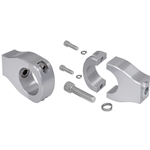Billet Mount Set for Manual Rack and Pinion - Satin Finish