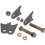 Shock Mount Tab Set for Round Tubing