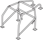 Street Roll Cage, 1-5/8