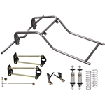 Drag Race Sportsman 4-Link Rear Clip and Suspension - 1-5/8
