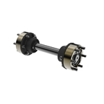Half-Shaft CV-Joint Assembly - 35-Spline, 13.625