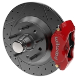VariStrut HD Iron-Hub 11.75 -.81 Red Heavy Duty Wilwood Dynalite 4-Piston Calipers