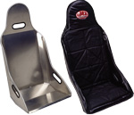 ALUMINUM DRAG SEAT AND VINYL COVER