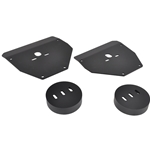 GM 63-87 C10 Truck - Front Air Bag Mounts, Cup Style (Set of 4)
