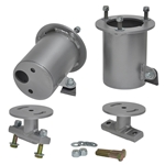 GM 07-08 1500 Truck - Front Air Bag Mounts, Cup Style (Set of 4)