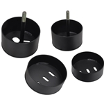 Ford 97-03 F150 Truck - Front Air Bag Mounts, Cup Style (Set of 4)