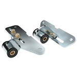 Side Motor Mounts, Steel Welded Assembly - Small Block Ford, 351 only (adjustable)