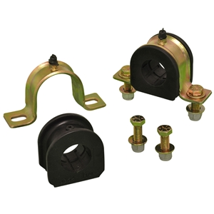 Strap Clamp and Poly Bushing (F-Large) Set for 1-1/4