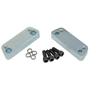 Camaro 67-69, Nova 68-74 - Transmission Crossmember Adapters for OEM Frame Clips (V8)