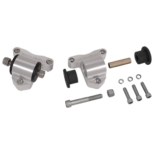 Side Motor Mounts, Billet Aluminum - Chevrolet V8