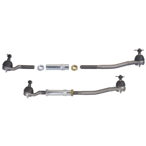 Mustang 64-66, Ford/Mercury 60-65 - Tie Rod and Sleeve Set for OEM Spindle