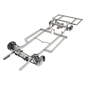 Straight-Rail Frame with Suspension