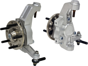 gStreet Billet-Aluminum Spindles with Unit-Bearing Hub