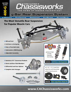 g-Bar Rear Suspension System - Buyers Guide