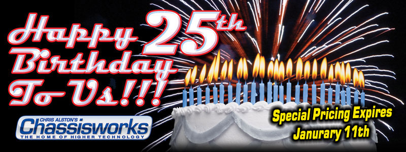 Happy 25th Birthday to Us!