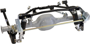 Mustang Air-Spring g-Bar (Poly) with OEM Housing and Sliding Link Anti-Roll Bar