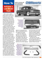 How To Reframe a Late-Model Truck