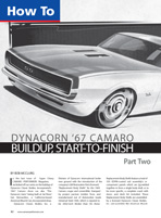 Dynacorn '67 Camaro Buildup - Part II