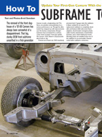 Subframe to Surface Missile