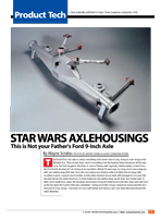 Star Wars Axlehousings
