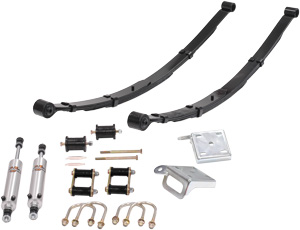 Leaf Spring Suspension (Stage 1)