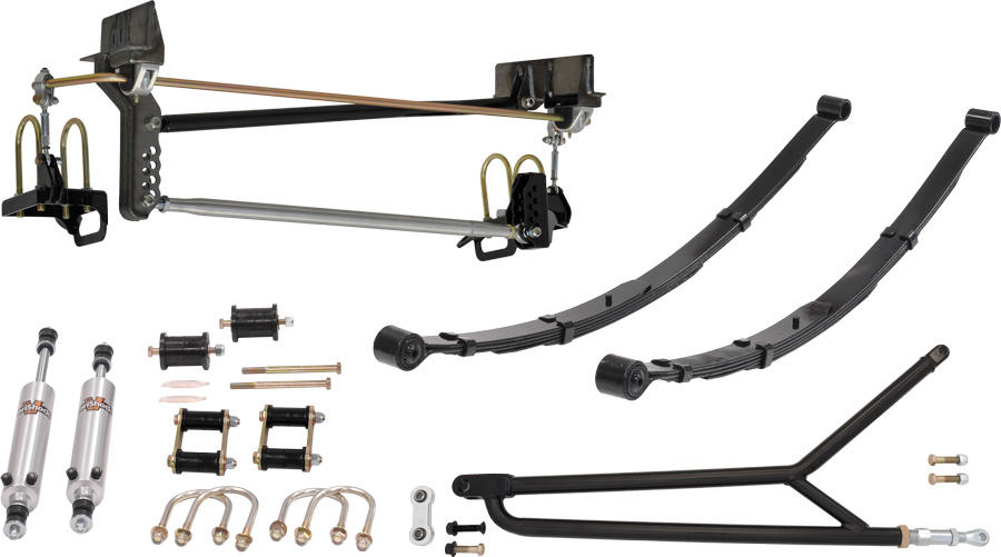 Torque Arm / Panhard Bar Suspension (Stage 6)