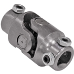 Needle Bearing Universal Joint, Steel - 3/4-DD x Tri-Lobe