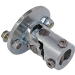 Flanged Universal Joint - GM Rag Flange, 3/8
