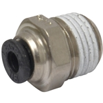 Tube to Male NPT Fitting, Straight - 1/8