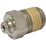 Tube to Male NPT Fitting, Straight - 1/4