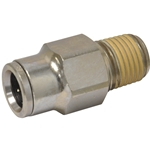 Tube to Male NPT Fitting, Straight - 3/8