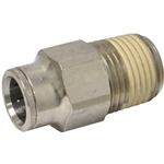 Tube to Male NPT Fitting, Straight - 1/2