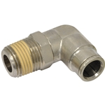 Tube to Male NPT Elbow, 90°Swivel - 1/2