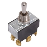 Momentary Toggle Switch, Six Prong (Up, Off, Down)