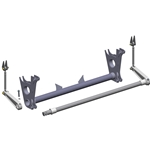 Camaro 82-02 (GM F-Body) - Anti-Roll Bar (Drag Race) FAB9 Housing Mounted