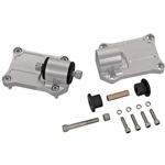 Side Motor Mounts, Billet Aluminum (Satin) - Chevrolet LS Series