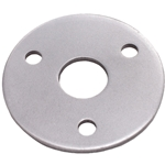 Weld-On Steering Wheel Mounting Flange - 3-Hole, Round