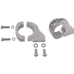 Billet Rack and Pinion Clamp Mounts, 2-Hole