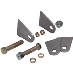 Shock Mount Tab Set for Flat Surface