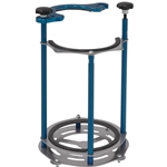 STAND-UP 10-LB SINGLE BOTTLE RACK