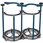 STAND-UP 10-LB DUAL BOTTLE RACK