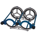 LAY-DOWN 10-LB DUAL BOTTLE RACK