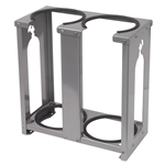 TRAILER RACK DUAL 15-LB BOTTLES