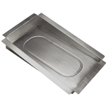 FUEL-TANK SUMP COVER, STEEL