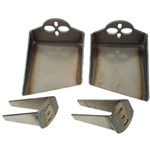 Ford 83-97 Ranger Truck - Front Air Bag Mounts, Weld-In Cup Style (Set of 4)
